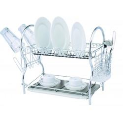 Secador platos Cromado, 2...