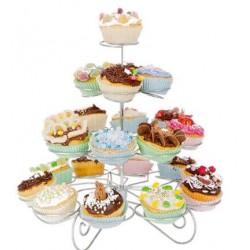 Soporte Cupcake 23pzs. 4...