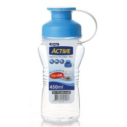 Botella Active 450ml Azul...